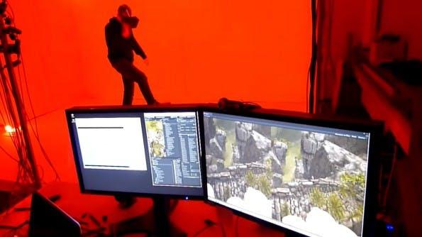 Full Body Motion Tracking aus dem Haus VR Bits. (Screenshot: Youtube)