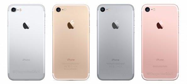 Das iPhone 7 dürfte wie auch das iPhone 6s in vielen verschiedenen Farben angeboten werden. (Bild: VenyaGeskin1)