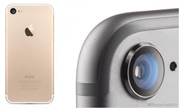 Konzept: So könnte das iPhone 7 von hinten aussehen. (Bild: VenyaGeskin1)
