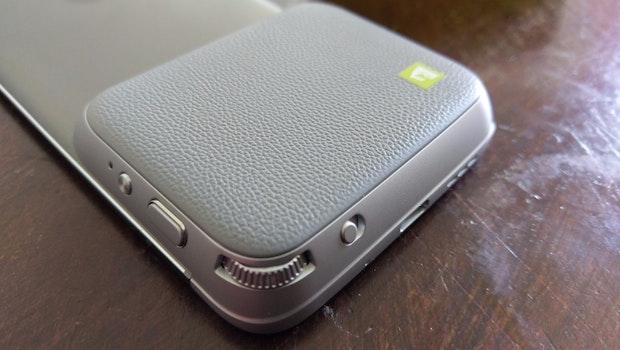 LG-G5-Freund: das Cam-Plus-Modul. (Foro: t3n)