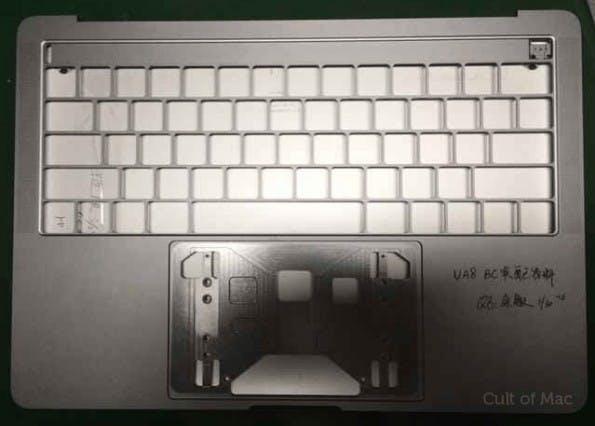 Das neue MacBook Pro von oben. (Foto: Cult of Mac)
