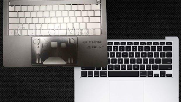 Links das neue MacBook-Pro, rechts das alte Design. (Foto: Cult of Mac)