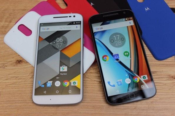 Moto G4 und G Plus erhalten Android N mit Sicherheit. (Foto: t3n)