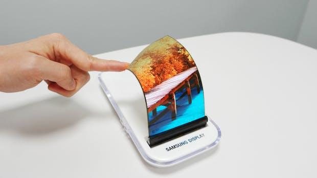 Aufklappbar wie eine Puderdose: Neue Details zu Samsungs faltbaren Smartphones