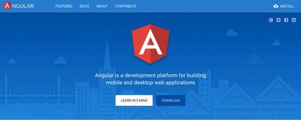 Screenshot: Angular