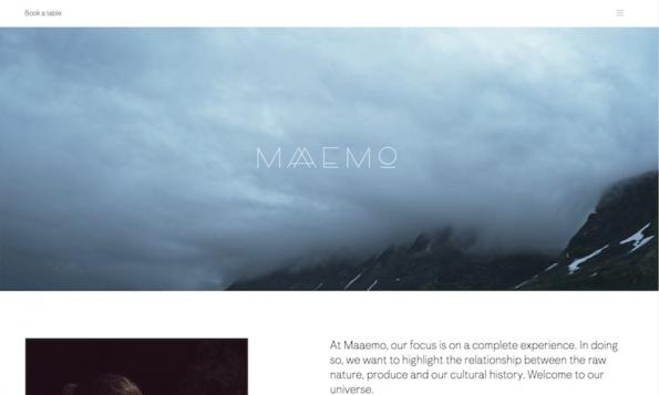 Screenshot: Maaemo