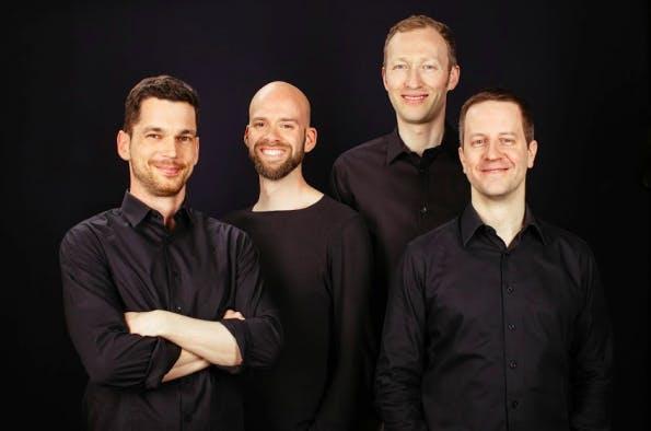 Christian Thurau, Florian Hoppe, Ingo Bax und Roland Memisevic haben gemeinsam das Startup TwentyBN gegründet. (Foto: TwentyBN)