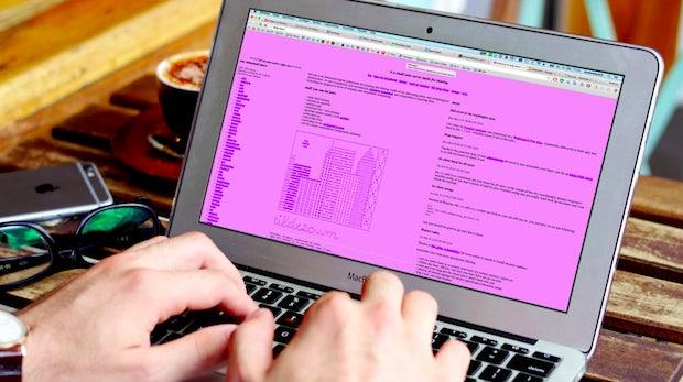 """Der heißeste Design-Trend im Netz heißt """"Web Brutalism"""" – und er wird dich umhauen"""