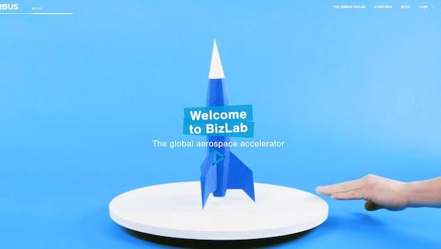 Im Accelerator Airbus Bizlab dreht sich vieles, aber nicht alles um die Luftfahrt. (Screenshot: Airbus Bizlab)