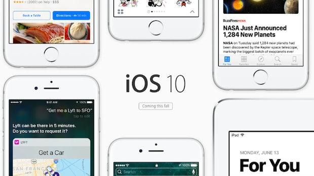 iOS 10: Das sind die Neuerungen bei Nachrichten, Siri, Telefon und Co.