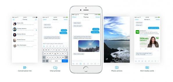 Ideal für die Programmierung eines Chat-Bot: Das kostenlose Design-Kit von Layer. (Bild: Layer)