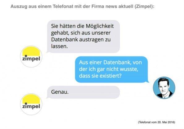 Influencer Richard Gutjahr hakt beim Adressbroker nach. (Screenshot: gutjahr.biz)