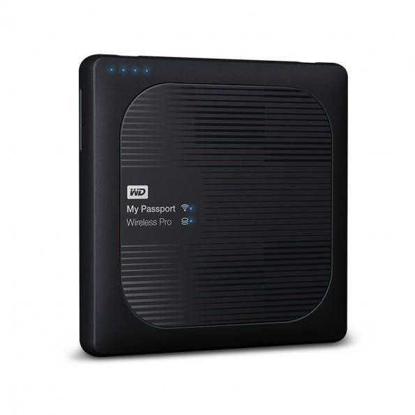 WD My Passport Wireless Pro: Wlan-Festplatte für Kreativ-Profis (Bild: Western Digital)