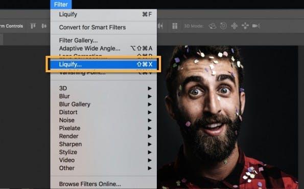 """Adobe Photoshop CC: Mit """"Face-Aware Liquify"""" bearbeitet ihr Gesichter so einfach wie nie zuvor. (Screenshot: Adobe)"""