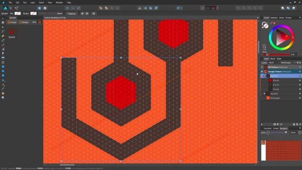 Vektor-Tool: Affinity Designer erscheint bald auch in einer Windows-Version. (Screenshot: Affinity Designer)