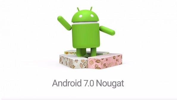 Android 7.0 Nougat. (Bild: Google)