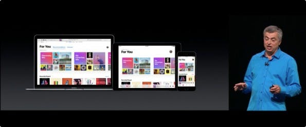 Apple Music erhält ein redesign – auf iOS, Apple TV und macOS. (Bild: Apple)