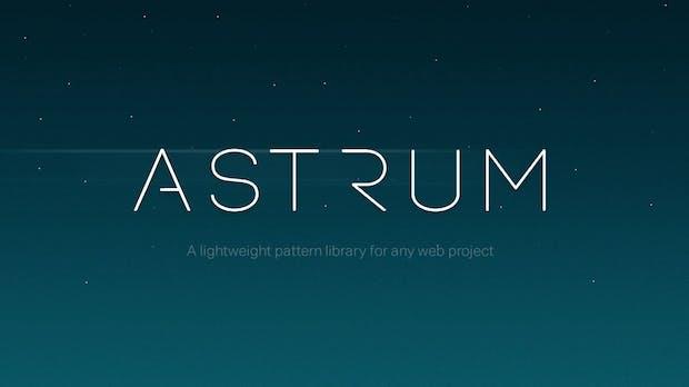 Astrum: Anschauliche Pattern Library ohne Coden