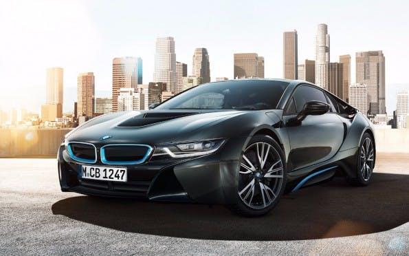 Der BMW i8 wird bald auch als Elektrofahrzeug rollen. (Bild: BMW)