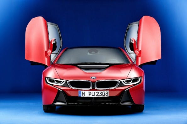 BMW i8 Protonic Red Edition. (Foto: BMW)