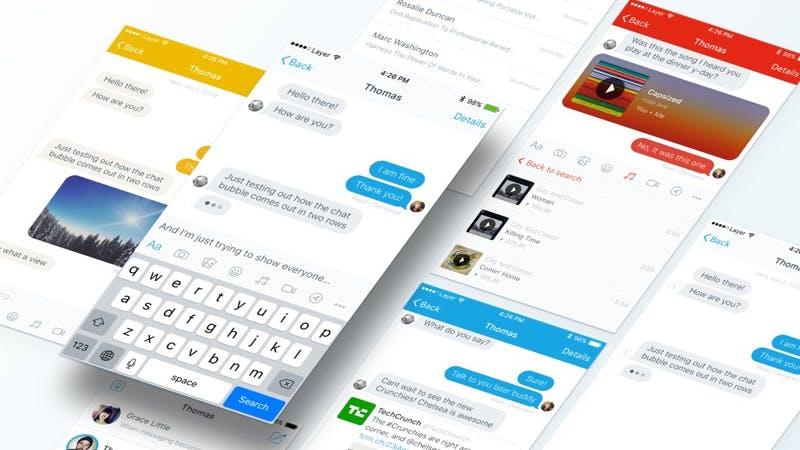 Chatbot gefällig? Kostenloses Design-Kit für den Facebook-Messenger erschienen