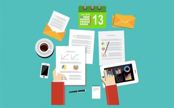 Deutsche Office-Alternativen mit Text-, Tabellen-, Präsentations- und Datenbank-Modulen. (Grafik: Shutterstock-hanss)