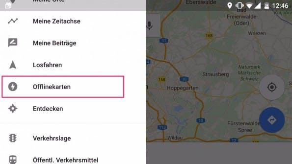 Google Maps und Here unterstützten die Offline-Navigation, damit ihr im Urlaub nicht verloren geht. (Bild: t3n)