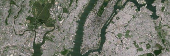 Google Maps: So sah das Kartenmaterial vor dem Update aus ... (Bild: Google)