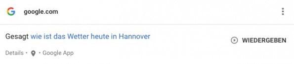 """Ihr könnt in """"Meine Aktivitäten"""" eure Sprachsuchen erneut abspielen. (Bild: Google; t3n)"""