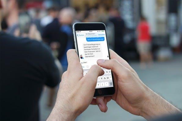 Clever: Das hannoversche Startup Smartsteuer veröffentlichte pünktlich zum Steuerstichtag einen Facebook-Bot. (Foto: Dunnnk.com/t3n)