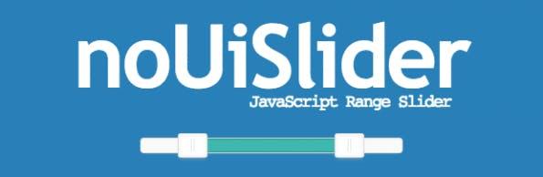 Range-Slider im HTML-Formular verwenden. (Screenshot: NoUISlider)