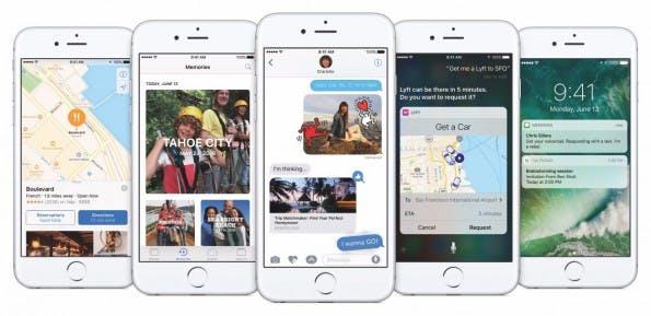 Das iOS-10-Update wird es nicht auf alle Geräte schaffen, auf denen derzeit iOS 9 läuft. (Bild: Apple)