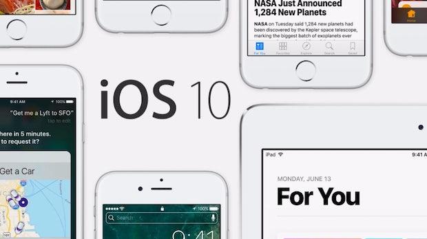 Davon kann Google nur träumen: iOS 10 verbreitet sich rasant