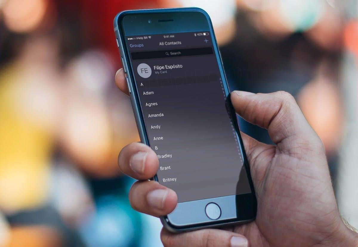 Kommt der Darkmode? Erste Details zu iOS 10.3 veröffentlicht