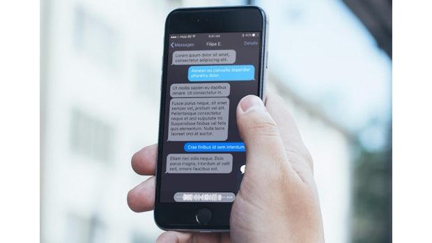 Messages: Konzept zum Dark Theme in iOS 11.  (Bild: ihelpbr)
