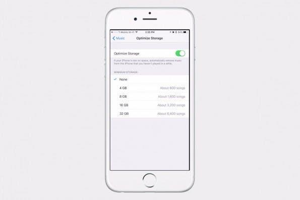 Speicher freischaufeln ist unter iOS 10 einfacher geworde