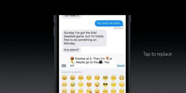 iOS 10 wird smarter, aber laut Apple nicht auf Kosten der Sicherheit – Differential Privacy ist die Lösung. (Bild: Apple)