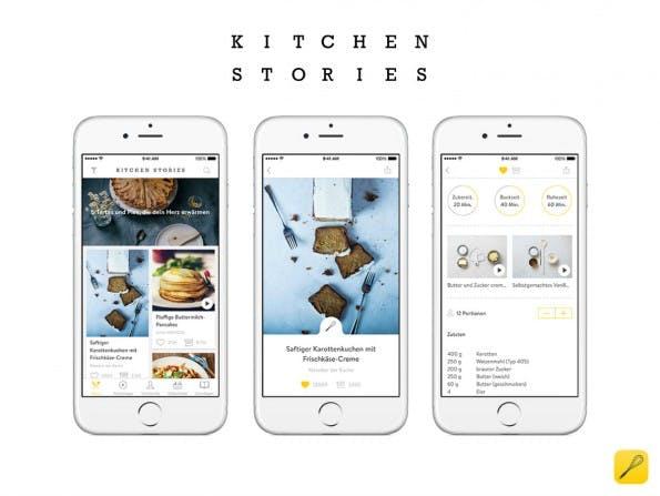 Rezepte per Video – das ist das Geschäftsmodell hinter dem Startup Kitchen Stories. (Foto: Kitchen Stories)
