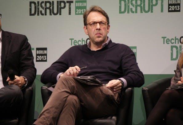 Klaus Hommels auf einer Konferenz in Berlin. (Foto: Shutterstock)