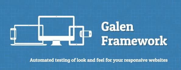 (Screenshot: galenframework.com)