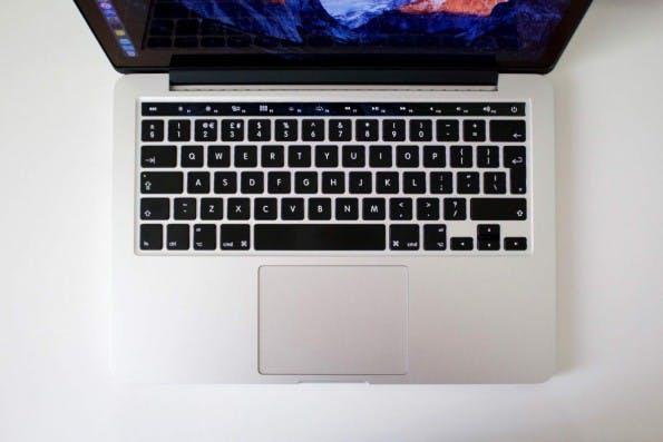 So könnte das OLED-Display auf dem MacBook Pro (2016) in der Standard-Ansicht aussehen. (Bild: CultofMac)