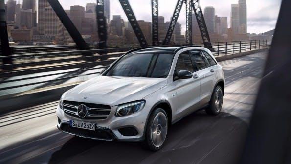 Das Design des Elektro-SUVs soll sich am Mercedes Benz GLC orientieren. (Foto: Daimler)
