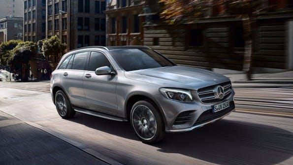 Mercedes Benz GLC. (Foto: Daimler)