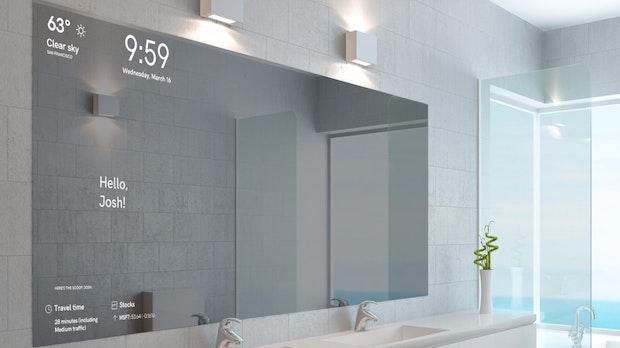 Magic Mirror: Dieser smarte Spiegel erkennt euer Gesicht und zeigt personalisierte Informationen an