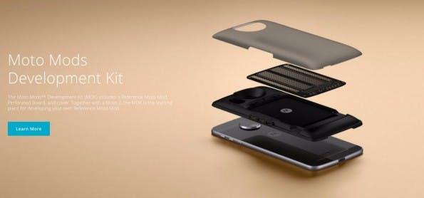 Lenovo will das Angebot an Mods ausbauen und bietet dafür ein Developer-Kit an. (Bild: Lenovo)