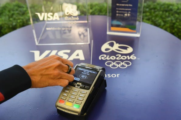 Visa will Bezahlen per NFC-Ring in Rio ermöglichen. (Business Wire/VISA)