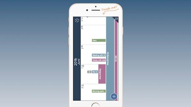 Der cleanste Kalender der Welt: Wie ein schwedischer Entwickler sich die perfekte Smartphone-App vorstellt