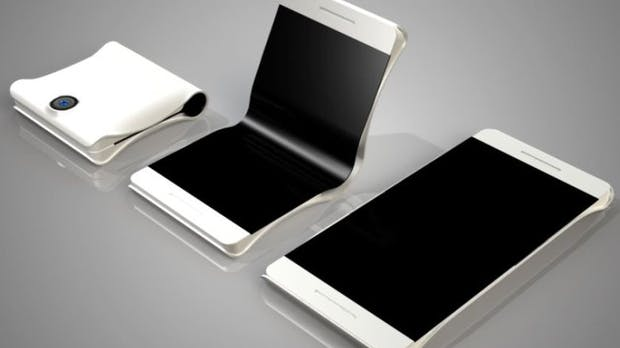 Galaxy X: So könnte Samsungs erstes faltbares Smartphone aussehen