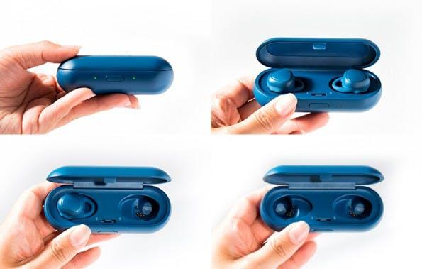 Das Ladecase der Samsung Gear IconX. (Foto: Samsung)