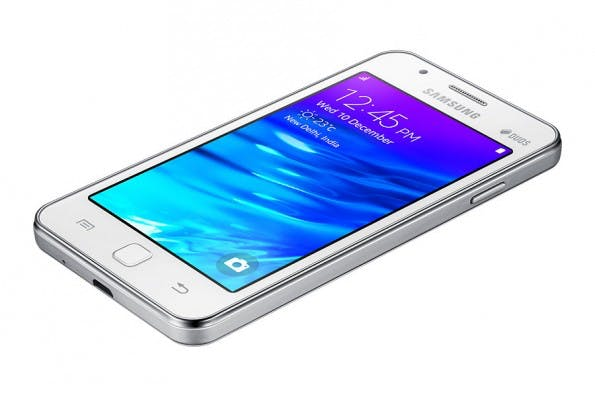 Ohne Android: Das Samsung Z1 basiert auf Tizen. (Bild: Samsung)
